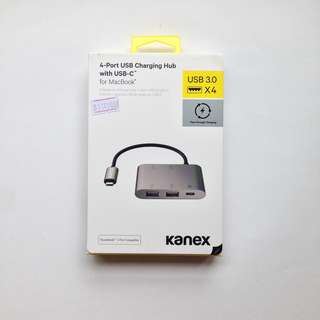 KANEX 4-Port USB Charging Hub with USB-C