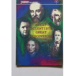 Children's book ( Great Scientists Great Discoveries)