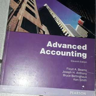 Buku kuliah akuntansi - Advanced accounting - pearson