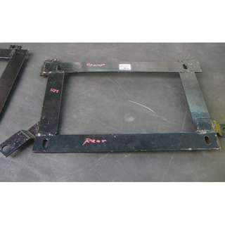 Custom make racing seat bracket for wira, satria, putra, gen2, neo, persona & waja LEFT side only model 33124