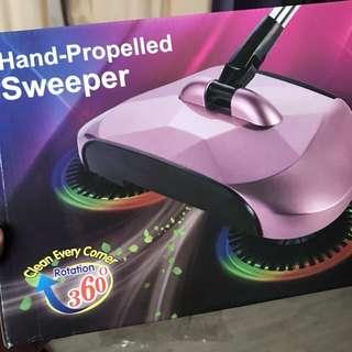 🚚 手推式掃地機