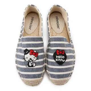 Special Edition : Hello Kitty with Mustache Fisherman Shoes