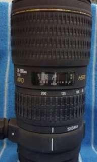 Sigma 70-200 f2.8 apo Canon mount