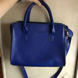 Royal Blue Square Sling Bag