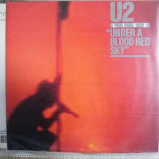 U2 Under a red blood sky
