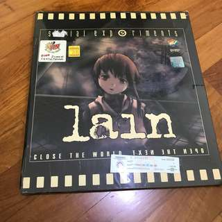 Lain Serial Experiments VCD (unopened)