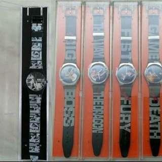 5隻李小龍 Bruce Lee 電影紀念手錶 - 正版正貨 - 唐山大兄至死亡遊戲紀念手錶