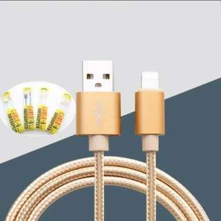 IPhone braided charger