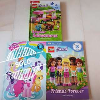 Lego Friends & My Little Pony books