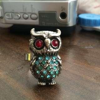 FREE owl ring