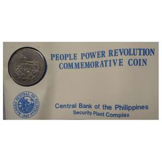 People Porwer Revolution Commemorative Coin