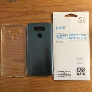 Samsung G6原廠電話殼連保護貼