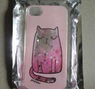 GLITTER CAT IPHONE 7 COVER