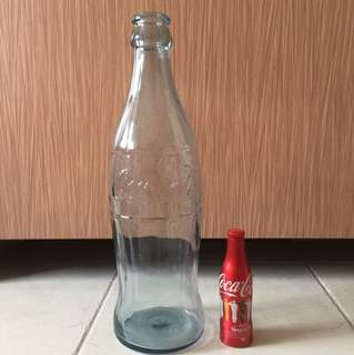 Large Coca Cola Glass Bottle