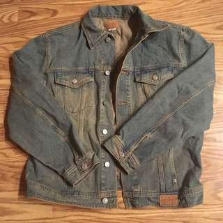 🔥💯authentic guess vintage denim jacket medium