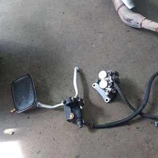 Honda Phantom TA200 Front Master Pump