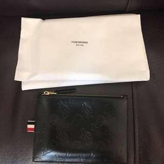 New York Thom Browne Clutch Holder Bag