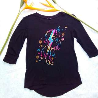 Unicorn long back shirt
