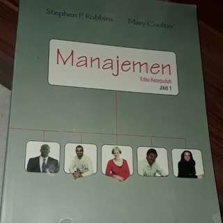 Manajemen - steven p robbins - buku kuliah ekonomi akuntansi manajemen bisnis
