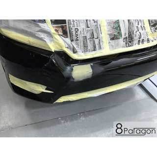 Honda Civic FC Accident Damage Repair/ Panel Beating/ Spray Painting/ Insurance Claim