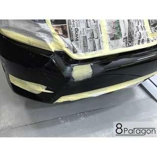 Honda Civic FC Accident Damage Repair/ Panel Beating/ Spray Painting/ Insurance Claim