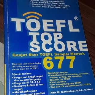 Buku ted toefl - latihan toefl