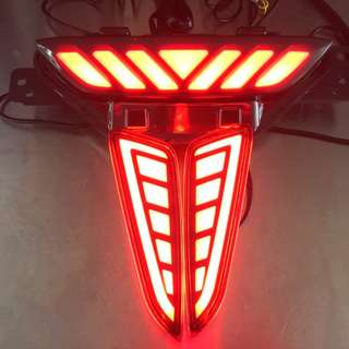 C-HR Back Bumper Reflector Light & Centeh Light