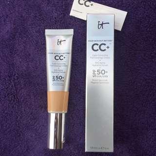 Selling low! ITCosmetics CC+ Cream in Tan