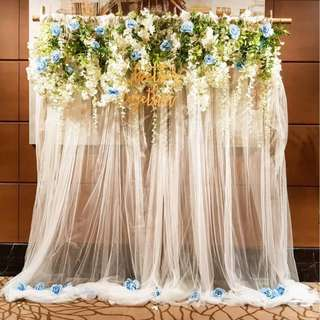 Wedding Decor Rustic Arch Solemisation Photobooth backdrop Decor Fullerton Bay hotel