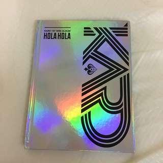 Kard 1st Mini Album Hola Hola
