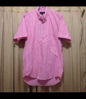 New kemeja kerja pink
