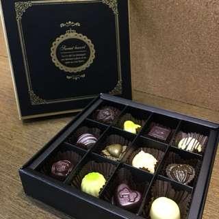 JINTI精選12入巧克力禮盒