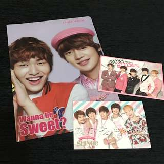 SHINEE X ETUDE HOUSE MERCHANDISE SET