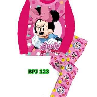 Minnie in bow sleep wear set