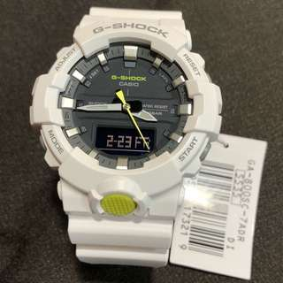 Casio G-Shock GA-800SC-7A GA-800SC ga-800sc-7a 行針 跳字 手錶