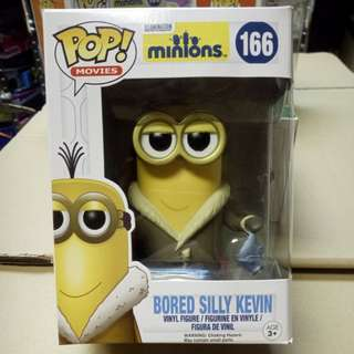 Funko POP Minions Bored Silly Kevin Vinyl Figure