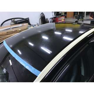 Honda Civic FD Car Roof Spraying/ Accident Damage Repair/ Spray Painting/ Insurance Claim