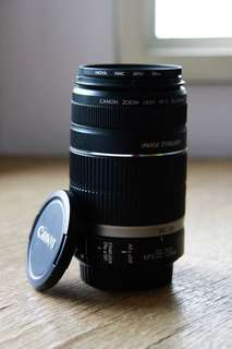 Canon EF-S 55-250mm lens + HOYA UV(C) HMC Filter