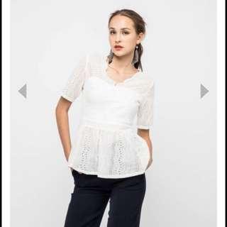 BNWT osmose peplum blouse