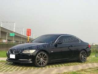 2010年BMW E92 330CI 可全額貸款 超額貸款 有工作 即可辦理全額貸 有興趣歡迎來電洽談 0933969713 阿坤 line:@fkd7014C