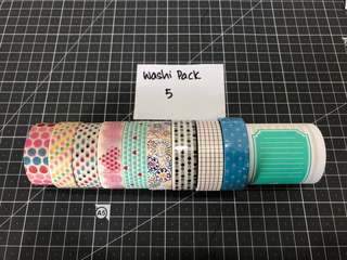 Washi Tape Pack 5
