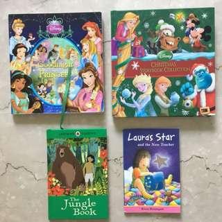 Storytelling books 4x