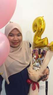 Set belon + choclate bouquet