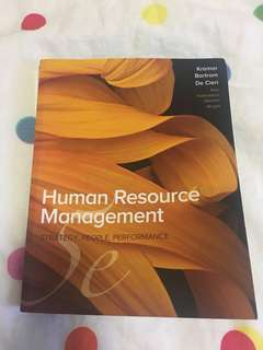 MGMT2718 Human Resources Management 5th Edition