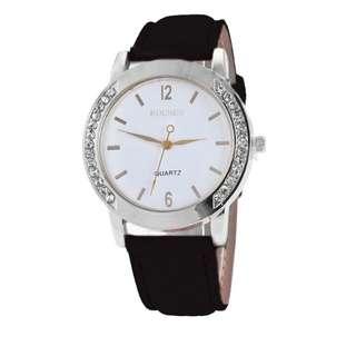 Rolnes Quartz Diamond Watch