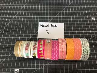 Washi Tape Pack 7