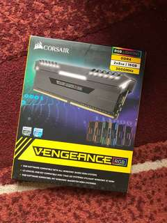 Corsair vengeance RGab DDR4 3000MHz 16GB