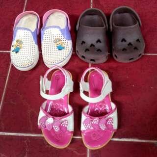 Sepatu Sendal 25rb 3 pasang