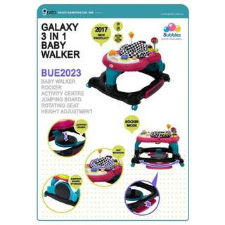 Bubbles 360 3in1 baby walker