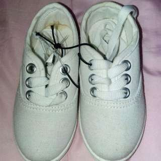 Unisex Toddler White Shoes